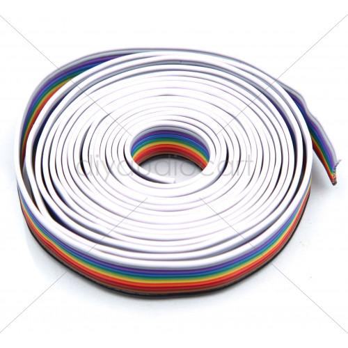 Multicolor Flat Ribbon Cable - 10 Core