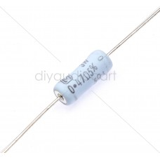Panasonic - 0.47 Ohms 5 % Metal Film Resistors - Through Hole