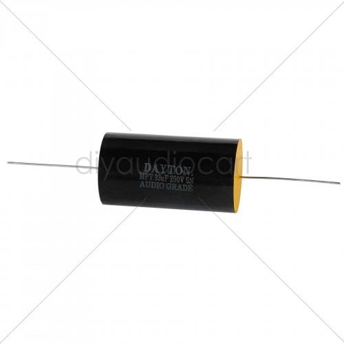 Dayton Audio DMPC-0.47 0.47uF 250V Polypropylene Capacitor