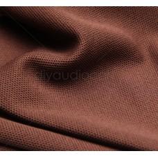 """Jantzen Audio - Speaker Grill Cloth - Running Feet by 68"""" Wide - Premium Brown"""
