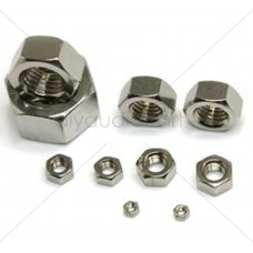 DAC - 6mm Nut - Stainless Steel