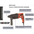 Black and Decker 22mm 3 Mode Rotary Hammer BDEL503K
