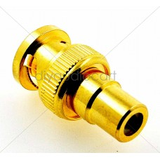 Allo - BNC To RCA Adapter - Gold Plated Brass