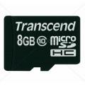 Allo - MicroSD Card - Transcend Class 10, 8GB