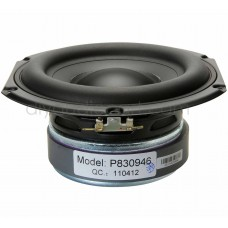 "Peerless by Tymphany - 830946 - 6-1/2"" Paper Cone - Woofer - Speaker 4 Ohm"
